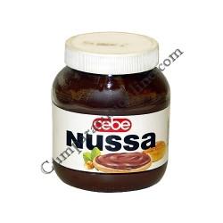 Crema de cacao cu alune Cebe Nussa 400 gr.