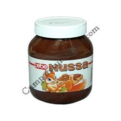 Crema de cacao cu alune Cebe Nussa 750 gr.