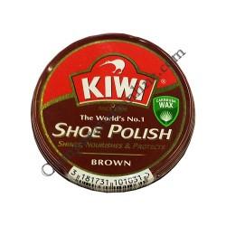 Crema pantofi Kiwi Shoe Polish maro 50 ml.