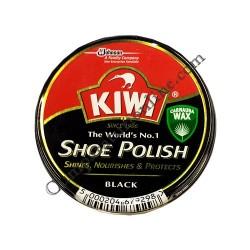 Crema pantofi Kiwi Shoe Polish neagra 50 ml.