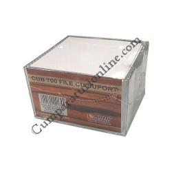 Cub hartie cu suport Arhi Design 700 file 9x9 cm.