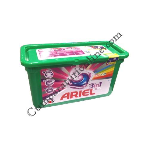 Detergent automat Ariel capsule color 28 buc.