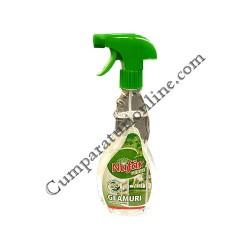 Detergent geamuri cu pulverizator Nufar 500 ml.