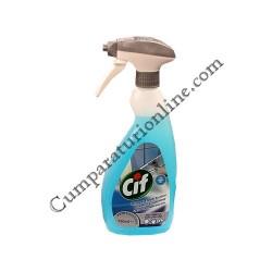 Detergent lichid geamuri si suprafete Cif 750 ml.