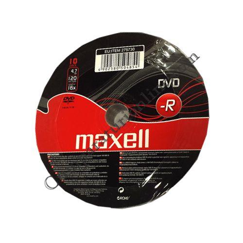 DVD-R/16X Shrink Maxell 10 buc. pret/buc.