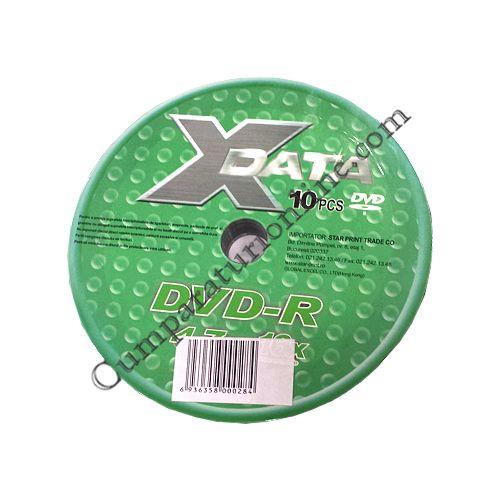 DVD-R/8x Shrink X-Data 10 buc. pret/buc.