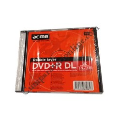 DVDR Dual Layer/Case ACME 8,5GB