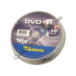 DVDR/16X Cake TraxData 10 buc. pret/buc.