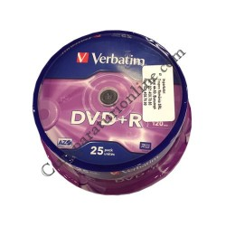 DVDR/16X Cake Verbatim 25 buc. pret/buc.
