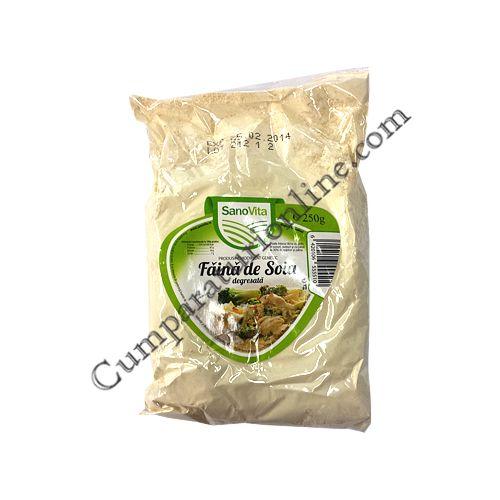 Faina de soia SanoVita 250 gr.