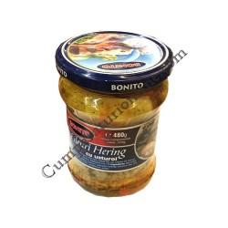 File hering cu usturoi Bonito 480 gr.