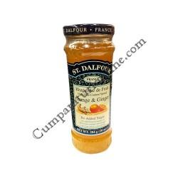 Gem dietetic de portocale si ghimbir St. Dalfour 284 gr.