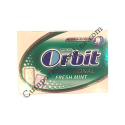 Guma de mestecat Orbit Professional Fresh Mint 10 buc.