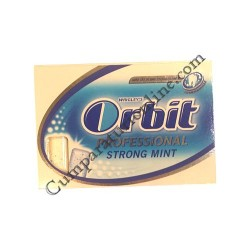 Guma de mestecat Orbit Professional Strong Mint 10 buc.