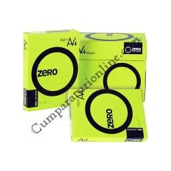 Hartie copiator ZERO A4 80 gr. 5x500 coli pret/buc.