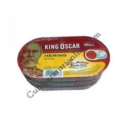 Hering in ulei King Oscar 170gr.