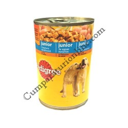 Hrana umeda caini Pedigree pui Junior 400 gr.