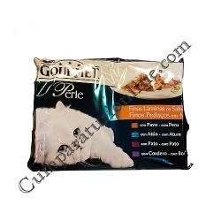 Hrana umeda pisici multipack rata cu legume Gourmet Perle 4x85gr