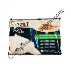 Hrana umeda pisici multipack vita Gourmet Perle 4x85 gr.