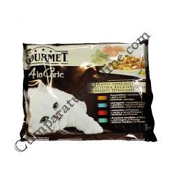 Hrana umeda pisici peste Gourmet A La Carte 4x85 gr.