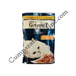 Hrana umeda pisici pui in sos Gourmet Perle 85 gr.