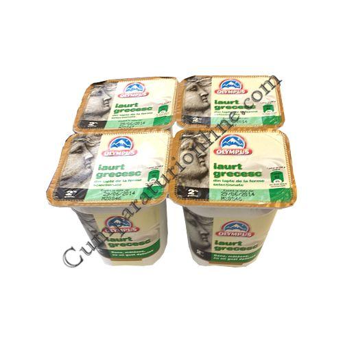 Iaurt grecesc 2% grasime Olympus 150 gr.