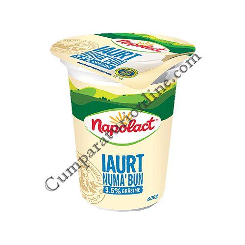 Iaurt Numa' Bun Napolact 3,5% grasime 400 gr.