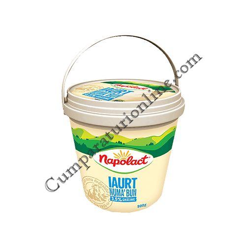 Iaurt Numa' Bun Napolact 3,5% grasime 900 gr.