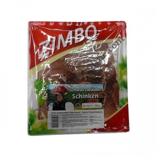 Jambon Padurea Neagra Zimbo 100 gr.