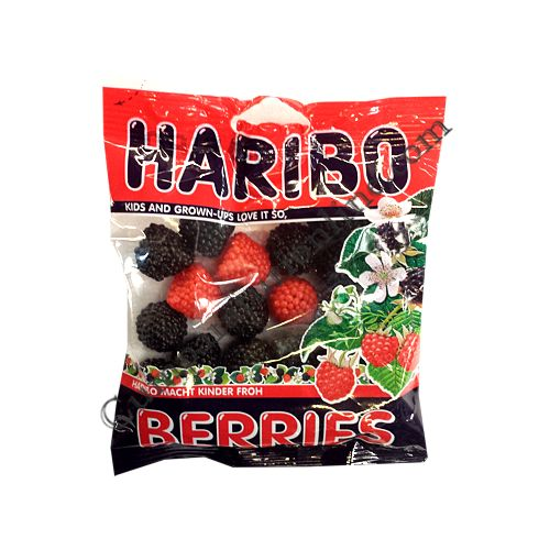 Jeleuri Fructe de padure Haribo 100 gr.