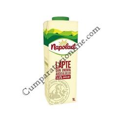 Lapte proaspat Napolact 3,5% grasime 1l.
