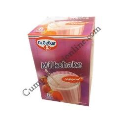 Milkshake capsuni Dr. Oetker 8pl. pret/buc.
