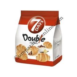 Mini Croissant 7Days Double cacao si vanilie 185 gr.