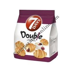 Mini Croissant 7Days Double vanilie si cirese 185 gr.