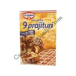 Mix 9 prajituri Dr. Oetker 380 gr.