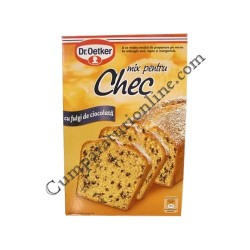 Mix chec cu fulgi ciocolata Dr. Oetker 380 gr.