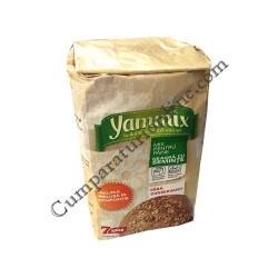 Mix pentru paine neagra cu seminte Yammix 500 gr.