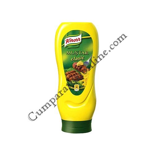Mustar clasic Knorr 500 gr.