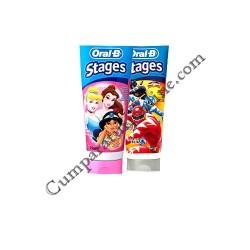 Pasta de dinti copii Oral-B Stages 75 ml.