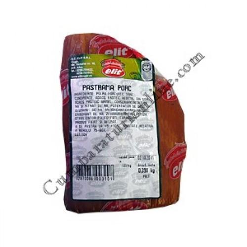 Pastrama de porc Elit vid pret/kg.