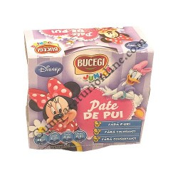 Pate de curcan Bucegi Junior Minnie 120 gr.