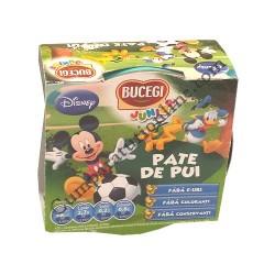 Pate de pui Bucegi Junior Mickey 120 gr.