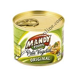 Pate vegetal original Mandy Foods 200 gr.