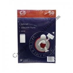Plic C5 gumat Kraft ROM 50 buc/set. pret/buc.