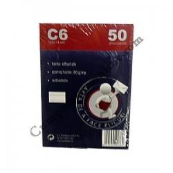 Plic C6 autoadeziv ROM 50 buc/set. pret/buc.