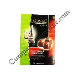 Praline ciocolata crema whiskey Laroshell 150 gr.