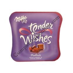 Praline Milka cherry tender Wishes 137,5 gr.