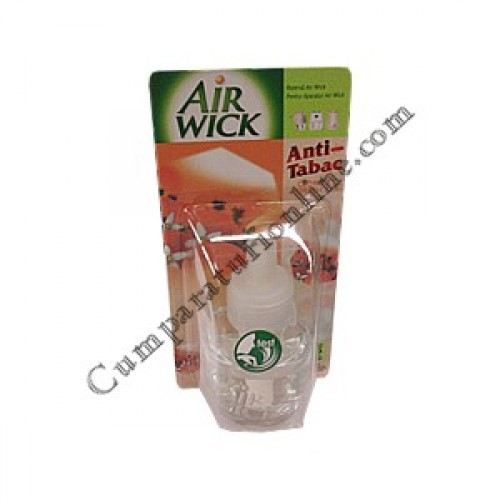 Rezerva aparat electric Airwick 19 ml. antitabac