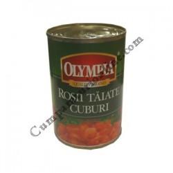Rosii taiate cuburi Olympia 400 gr.