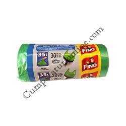 Saci gunoi 49x60 cm. Fino Color HD 35L 30 buc.
